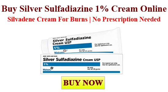 Silver Sulfadiazine Cream - Cream for Burns